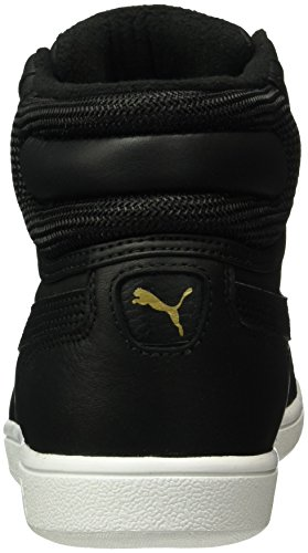 Puma Vikky Mid Winter Gtx, Baskets Basses Femme Noir - Schwarz (puma black-puma Black 02)