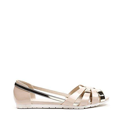Ideal Shoes ,  Ballerine donna Beige