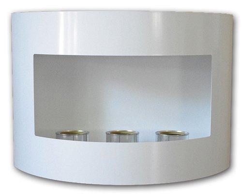 Deka Interieurbouw Bioetanol Gel Chimenea Riviera Deluxe Chimenea de Acero diseño Moderno