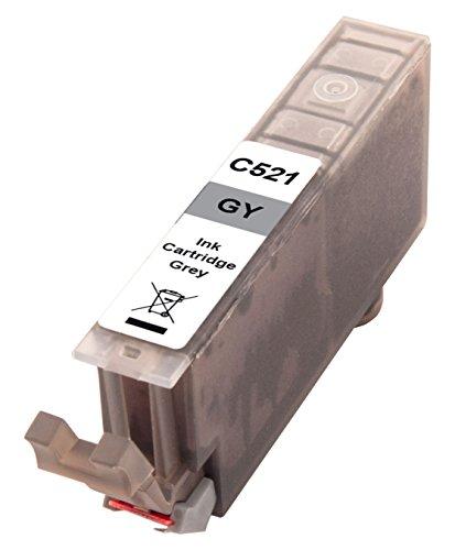 Preisvergleich Produktbild Peach XL-Tintenpatrone grau kompatibel zu Canon CLI-521gy, 2937B001