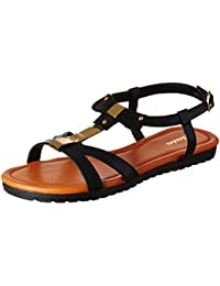 64c201840 BATA Women s Jenny Black Fashion Sandals - 7 UK India (40 EU)(