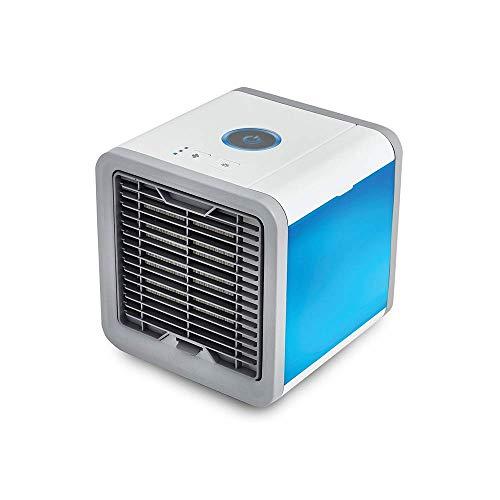 Breeze Klimaanlage (Sommer Usb Mini Tragbare Klimaanlage Luftbefeuchter Luftreiniger 7 Farben Licht Desktop Luftkühler, Luftkühler, für Office Home, WOZUIMEI)
