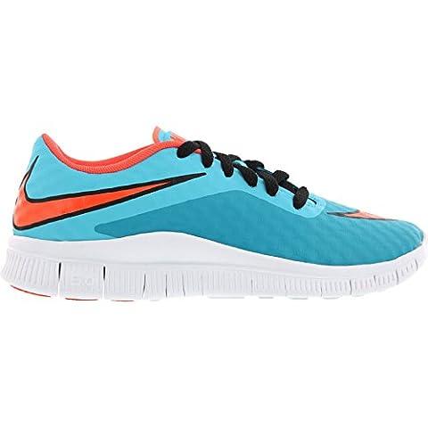 Nike Laufschuhe Free Hypervenom (GS) Unisex clearwater-total crimson-blue lagoon-white (705390-400), 37,5,