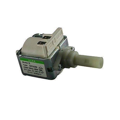 Elektropumpe Pumpe Ulka EP 5 GW mit 230 Volt 48 Watt 15 bar feuerfest, für Kaffeevollautomat (15 Bar Pumpe)