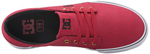 DC Trase TxWht Herren Sneakers Red/Gold