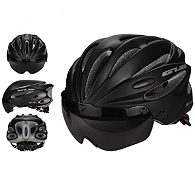 Pawaca Adult Cycling Bike Helmet Specialized with Removable Shield Visor for Mens Womens Safety Protection, Comfortable, Lightweight, Breathable by Pawaca
