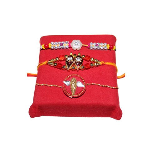 handicrunch-white-stone-3-rakhi-with-haldirams-rasgulla