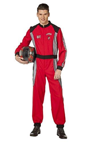 Herren Kostüm Rennfahrer Overall Karneval Fasching - Rennfahrer Kostüm Für Herren
