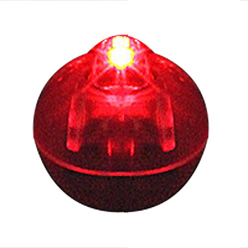 ZREAL 100 PCS/Lot Round Ball LED Balloon Lights Mini Flash Lamps für Weihnachtslaterne, Dekoration rot -