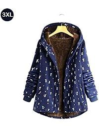 Amazon.it  Giacca Velluto Donna - Cappotti   Giacche e cappotti ... 5faab130aa9