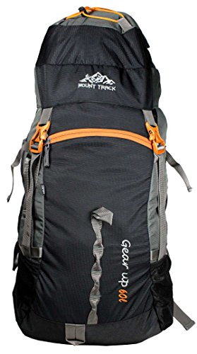 Mount Track Gear Up 9111 60Ltrs Black Rucksack
