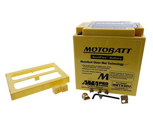 PW - Batteria Motobatt MBTX30U a 4poli, 12V, 32 Ah, 166 x 126 x 175 mm