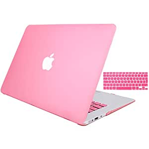 new style bb1e2 540d5 MacBook Air 13 Cover XGUO 2 In 1 MacBook Air 13 Case Ultra Slim Light  Weight (MacBook Air 13)(Pink)