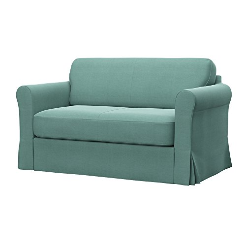 Soferia - IKEA HAGALUND Funda para sofá Cama, Elegance Mint