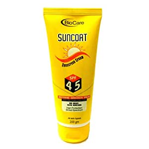 Biocare Whitening Sunscreen (SPF-45), 200gm