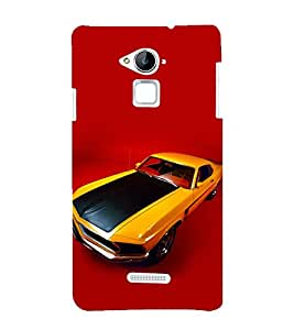 printtech Superfast Car Back Case Cover for Coolpad Note 3