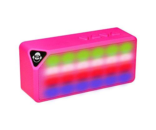 iDance BM1PK - Altavoz portátil Bluetooth (3W, Micro SD, Radio FM) Color...