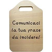 Tagliere decorativo in legno personalizzato con frase Idea regalo compleanno festa della mamma per la zia o per la…