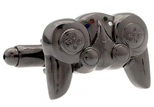 Mancuernas del dispositivo de juego Gunmetal Videojuegos