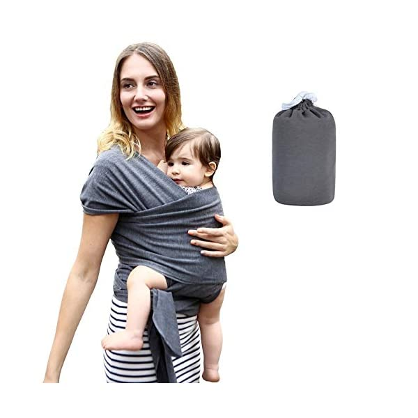 Baby Carrier, Frabe Family, Newborn Bank, Baby Carrier, Anthracite, Up to 16kg Frabe Family The easiest one: with our baby wrap, you won't have any problems wearing it or putting your little angel, forget those contorionist scenes, with our practical and safe baby headband. Thanks to its specially designed size, you can choose the best position for you and your little one, your back will enjoy proper support. Very comfortable: a practical gift for mom and baby, our pure cotton headband will ensure maximum comfort and fit in all situations and seasons, ensuring freshness in the summer and warmth in the winter to take care of your baby. It will help mom discharge the weight of baby in the most natural and comfortable way possible. HIS SAFETY: This cotton baby wrap will be able to ensure durability and hygiene over time, it will not let go over months and will keep your baby securely thanks to its maximum hold of 20 kg. Perhaps one of the best gift ideas for the mother to be and for the baby, a must have accessory for the best friend. In case of any stains or dirt, it can be washed quickly and as quickly as it dries without losing colour. 2
