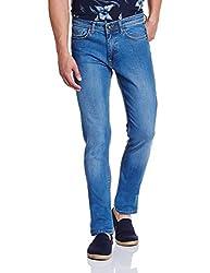 V Dot by Van Heusen Mens Slim Jeans (8907355711839_VDDN1D37581_30_Indigo)