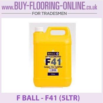 F KUGEL - F41 - Teppich Kachel Tackifier (5ltr)