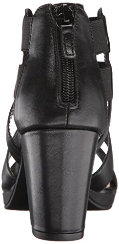 Bella Vita Lincoln Femmes Large Cuir Talons Black