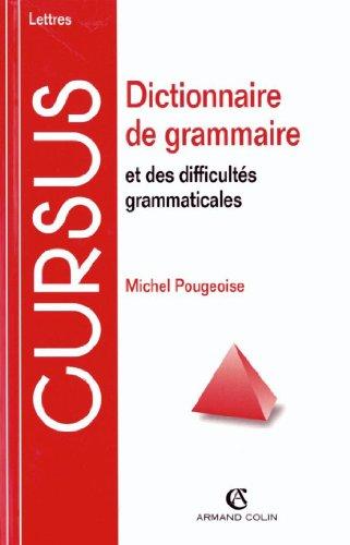 Dictionnaire de grammaire et des difficults grammaticales (Lettres)