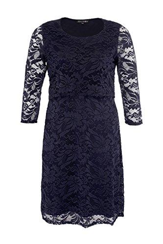 BLEE KLUM Damen Bustier Kleid Marine