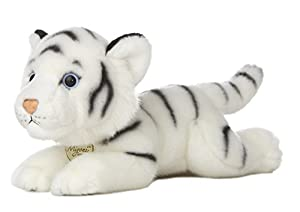 "Aurora World 10846 Miyoni Tiger - Figura Decorativa (11""), Color Blanco"