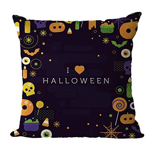 Cuscino di tiro quadrato cuscino a forma geometrica per ufficio home decor di halloween,yanhoo copricuscini e federe,cuscini decorativi,protezioni per cuscini,per halloween, natale, san valentino
