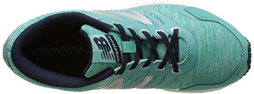 New Balance 590, Scarpe da Corsa Donna Multicolore (Green/Silver 316)