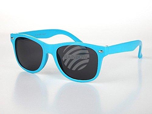 Viper Kinder Sonnenbrille Retro Wayfarer Nerd blau*NEU*OVP*