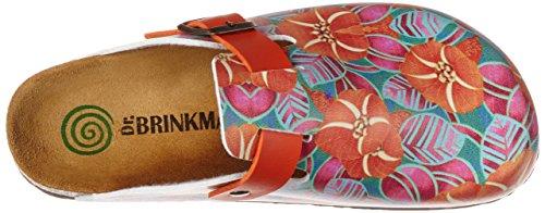 Dr. Brinkmann 600387, Zoccoli Donna Arancione (Arancione )