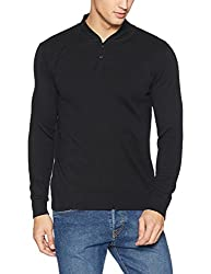 Pepe Jeans Mens Cotton Sweater (8907557393291_PIMT200614_Black_X-Large)
