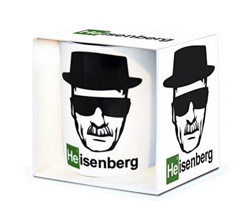Série TV - Breaking Bad - Heisenberg - mug de café - présenté dans un coffret cadeau - multicolore - design original sous licence - LOGOSHIRT