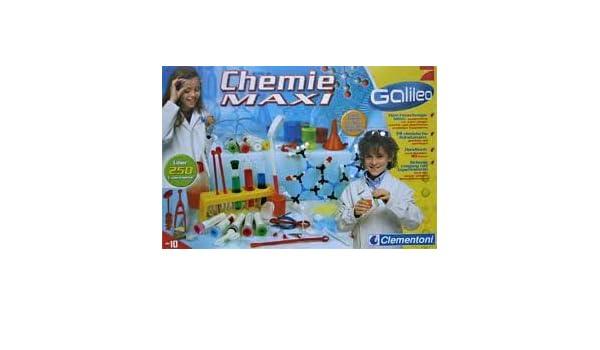 GALILEO Chemie Maxi 69062< Chemiekasten Experimentierkasten Set ...