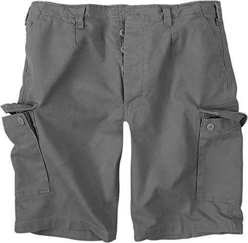 normani BW Herren Bermuda Shorts aus robustem Moleskingewebe Farbe Grau Größe XL Polar Shorts