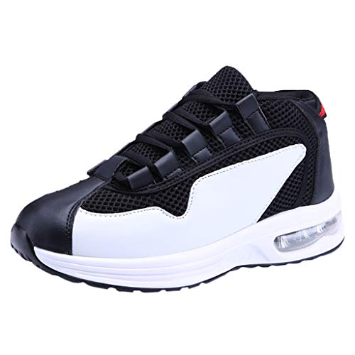 Luckycat Schuhe Ohne Schnürsenkel Herren Weiße Sohle Weich Elegant Sneaker Männer Teenager Mesh Atmungsaktive Outdoor Freizeit Laufschuhe Trekking Schuhe Herren Damen Sports Outdoor Hiking Sneaker