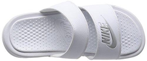 Nike - 685167 - Downshifter 6 (Gs/Ps) - Chaussures de Running Compétition - Homme Bleu (Plateado/jaune(Chlk Blue/Mtllc Slvr-Brght Mng)
