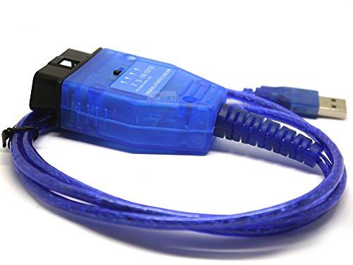 Preisvergleich Produktbild obdauto- Cable Diagnose VAG KKL USB für Fiat Alfa Lancia kompatibel multiecuscan alfaobd