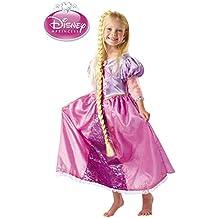 Disfraz Rapunzel deluxe para niña - Único, 3 a 5 años