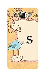 SWAG my CASE Printed Back Cover for SAMSUNG GALAXY E5