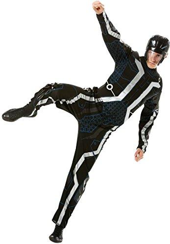 Rubie 's Offizielles Tron mit Muskel Brust, (Tron Erwachsene Für Kostüme)