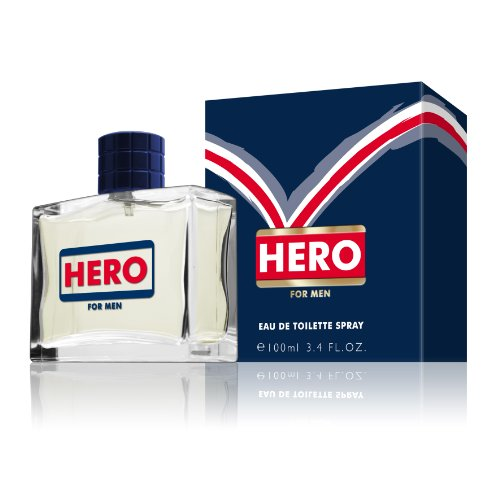 Mayfair Hero for Men EDT Spray 100 ml, 1er Pack (1 x 100 ml) - Echo Edt Spray