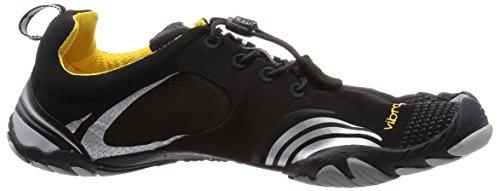 Vibram Five Fingers Kmd Sport LS, Chaussures de Fitness Homme, Bleu Noir (Black/Silver)
