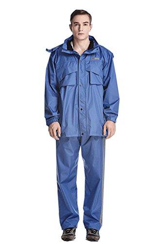 Icegrey - Manteau imperméable - Manches Longues - Homme Bleu