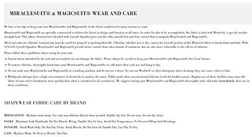 Miraclesuit Damen Badeanzug, 1 Stück Net Work - Madero Schwarz