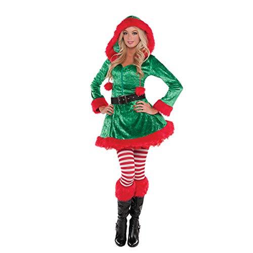 (Kecke Elfe - M Kostüm Weihnachten Damen Elfe Helfer Gr. 36 38)