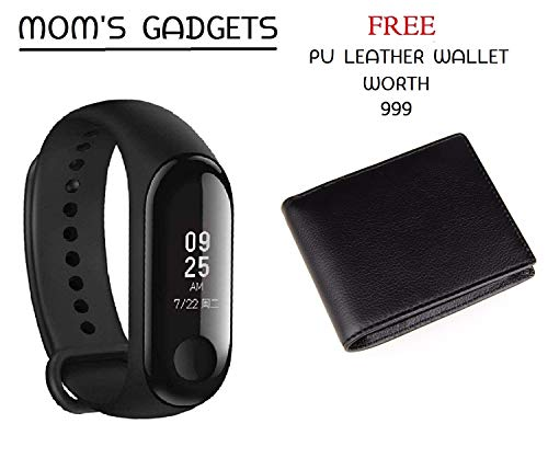 MOM'S GADGETS M3 Intelligence Bluetooth Health Wrist Smart Band Compatible for All...